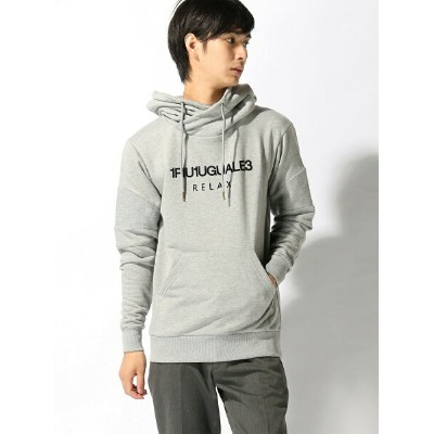【SALE/10%OFF】1piu1uguale3 RELAX TETE HOMME/(M)【1piu1uguale3 RELAX】Relaxed Fit Biker Hooded...