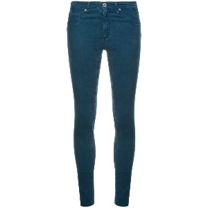 Ag Jeans low rise skinny jeans - ブルー