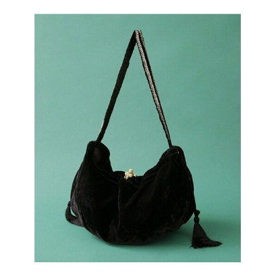 [Rakuten BRAND AVENUE]【SALE/20%OFF】VELVET TASSELE SHOULDER BAG NE QUITTEZ PAS ナノユニバース バッグ【RBA_S】...
