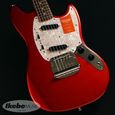 Fender 《フェンダー》(Made in Japan Traditional)Traditional 70s Mustang Matching Head (Candy Apple Red) ...