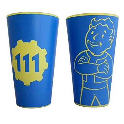2 - Packギフトセット16oz公式Fallout Vault Boy 111ブルーColored Pint Glassノベルティギフトセットof 2 - Pack