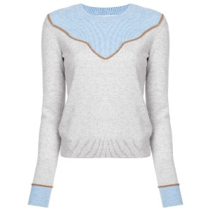 Veronica Beard cashmere knitted top - グレー