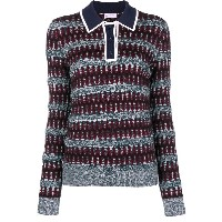 Carven knitted sweater - レッド
