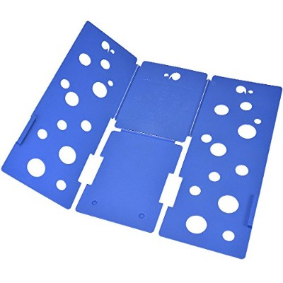 BoxLegend Clothes/T Shirt Folder Blue Plastic 4mm Thickness Shirt Folding Board Easy and Fast...