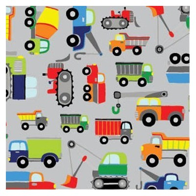 """Trucks Boys Big Rig Toy Gift Wrapping Paper Roll 24"""" X 15"""" - Birthday Gift Wrap by Premium Gift..."""