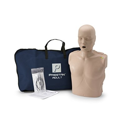 PRESTAN PP-AM-100M-MS Professional Adult CPR-AED Training Manikin with CPR Monitor, Medium Skin by...