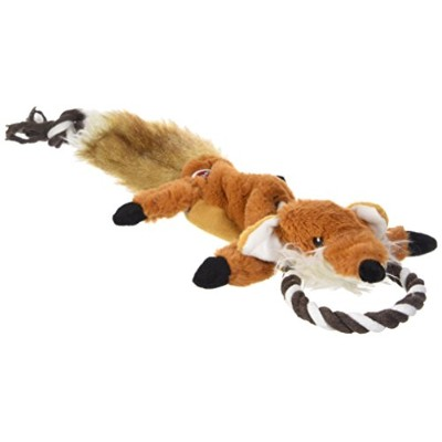 EthicalペットForest Fox Skinneeez Tugs Stuffingless犬おもちゃ、23 ""