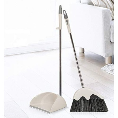 Upright Standing Dustpan and Broom Home and OfficeスイープコンボGoodグリップSweeper