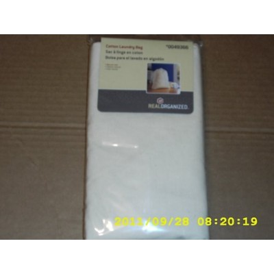 Real Organised 120l Cotton Laundry Bag 36 X 28 X 28 High