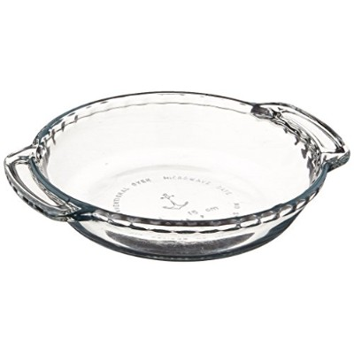 Anchor Hocking 79033 Anchor Hocking 6 Mini Pie Plate Oven Basics, Clear by Anchor Hocking