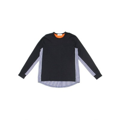 BEAMS T ALOYE × BEAMS T / 別注 Shirts Fabrics Long Sleeve Tee ビームスT カットソー【送料無料】