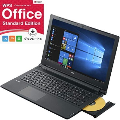 【Officeセット】NEC Versapro VF PC-VK16E/FB Windows10 Pro 64bit 第6世代 Celeron 3855U 4GB 500GB DVDスーパーマルチ...
