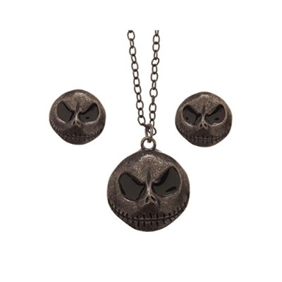Official The Nightmare Before Christmas Earrings and Necklace Gift Set in Tin