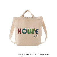 """IN THE HOUSE  HOUSE """"The Very Hungry Caterpillar"""" TOTE BAG シロ 【三越・伊勢丹/公式】 ランドセル・バッグ~~その他"""