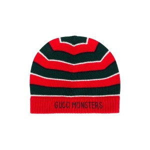 Gucci Kids Gucci Monsters ビーニー - レッド
