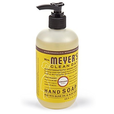 Liquid Hand Soap - Sunflower - Case of 6 - 12.5 fl oz by Mrs. Meyer's