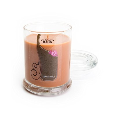 (Cinnamon Bark) - Cinnamon Bark Jar Candle - Candle - Highly Scented - Made With Essential &...