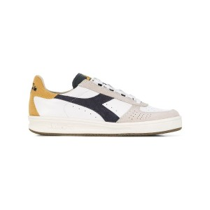 Diadora colour block sneakers - ホワイト