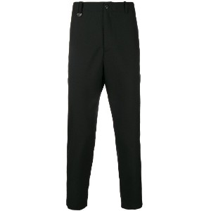 Oamc tailored fitted trousers - ブラック
