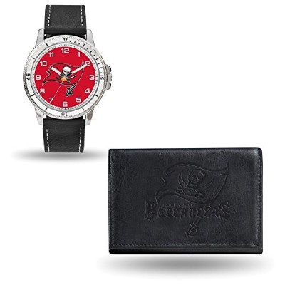 NFL Tampa Bay BuccaneersレザーWatch /財布セットby Rico Industries