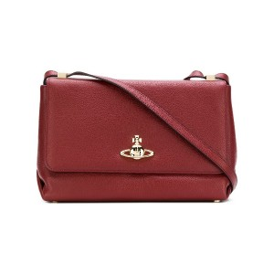 Vivienne Westwood Balmoral large shoulder bag - レッド