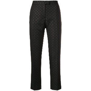 Ps By Paul Smith jacquard dot trousers - ブラック