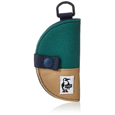 [チャムス]キーケース Half-moon Key Case Sweat Nylon Creek/Toast
