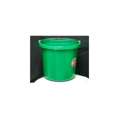 Fortex Industries Inc Flat Back Bucket Fb-124- Green 24 Quart - FB-124 GREEN
