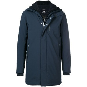 Save The Duck loose padded jacket - ブルー