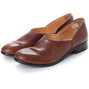 【SALE 45%OFF】ディガウト DIGOUT CHET (Washed Side Slit Shoes) (DARK BROWN) レディース