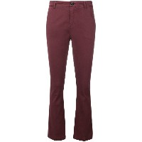 Department 5 flared chino trousers - レッド