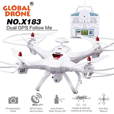 Aurorax x183RCドローンFPV VR WiFi RCクアッドコプター2.4GHz 6-axisジャイロリモートコントロールGlobal Drone with HD 1080pカメラDr...