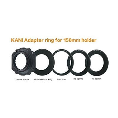 【KANI】アダプターリングセット 150 adapter ring for 95mm Down ring 86-95/82-95/77-95 (※Tamron 15-30mm 、Nikon 14...
