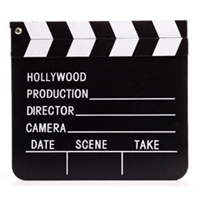 Movie Clap Board by Rinco