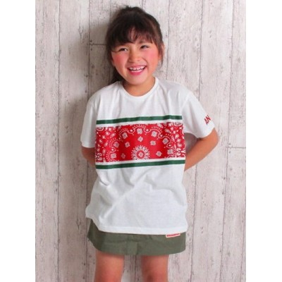【SALE/50%OFF】ANAP KIDS ANAPKIDSペイズリープリントTシャツ アナップ カットソー【RBA_S】【RBA_E】