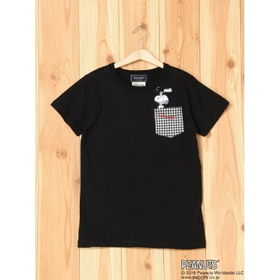 【SALE/30%OFF】KRIFF MAYER (K)SNOOPYポケTEE クリフメイヤー カットソー【RBA_S】【RBA_E】