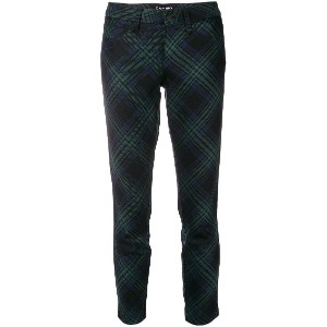 Cambio cropped trousers - グリーン