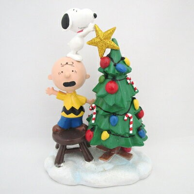 スヌーピー Department 56 フィギュア -Tree Topper Figurine-
