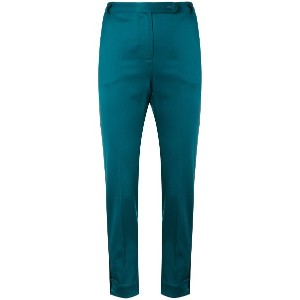 Styland slim-fit trousers - グリーン