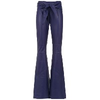 Clé leather trousers - ブルー