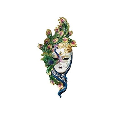 (Peacock) - Design Toscano WU74139 Mask of Venice Peacock Wall Sculpture
