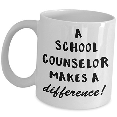 Best Guidance Counselorマグギフト–学校Counselor Makes a Difference–コーヒーカップ学校Officeオーナメントas seen on...