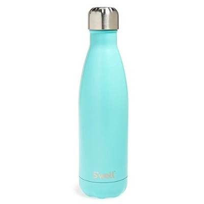 新色 Swell Turquoise Blue Stainless Steell Water Bottle スウェルボトル ターコイズブルー 17oz(約500ml)