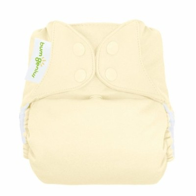 bumGenius Freetime All-In-One One-Size Snap Closure Cloth Diaper - Noodle by Cotton Babies