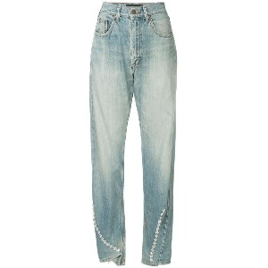 Tiger In The Rain high rise jeans - ブルー