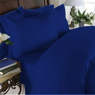 Egyptian Bedding Rayon from BAMBOO Sheet Set - Full Size Royal Blue 1500 Thread Count Cotton Sheet...