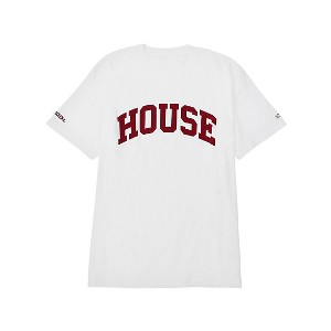 【SALE(伊勢丹)】 IN THE HOUSE  HOUSE PRIVATE SCHOOL TEE ホワイト 【三越・伊勢丹/公式】 メンズウエア~~Tシャツ