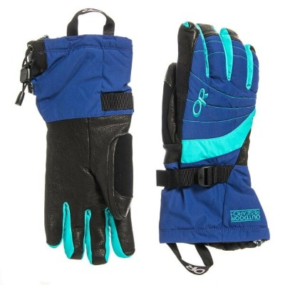 アウトドアリサーチ Outdoor Research レディース 手袋・グローブ【Revolution Gloves - Waterproof, Insulated】Baltic/Typhoon