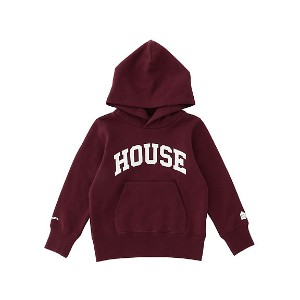 【SALE(三越)】 IN THE HOUSE  HOUSE KIDS COLLEGE HOODIE ボルドー 【三越・伊勢丹/公式】 キッズファッション~~その他