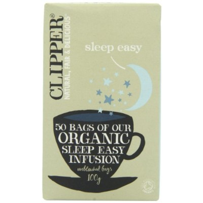 Clipper Organic Infusion Sleep Easy 50 Teabags 100 g (Pack of 6)